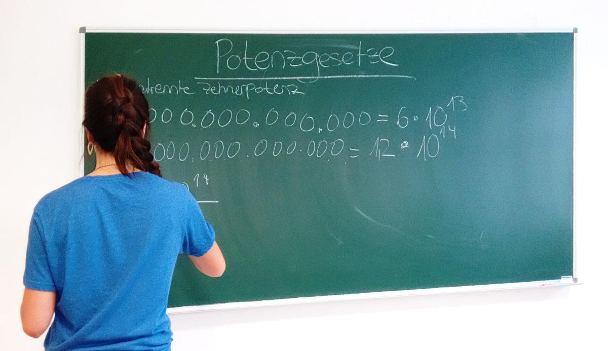 Mathematik in den Ferien?