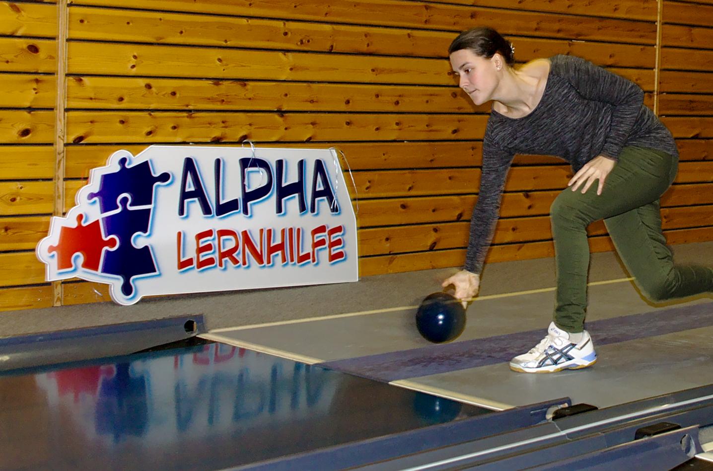 Dynamische Alpha-Lehrerin - wie im Sport, so beim Unterricht