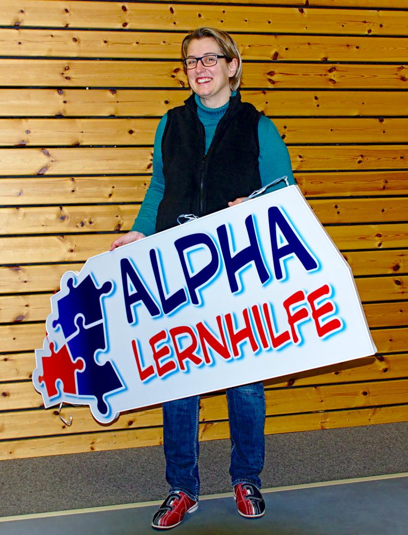 Bettina Rüdinger - Inhaberin, Nachhilfe-Lehrerin und mit ganzer Seele LRS-Therapeutin