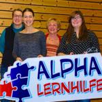 Das Alpha-Lernhilfe-Englisch-Team