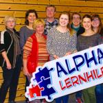 Die LRS-, DAZ und Deutsch-Lehrerinnen und -Lehrer der Alpha Lernhilfe