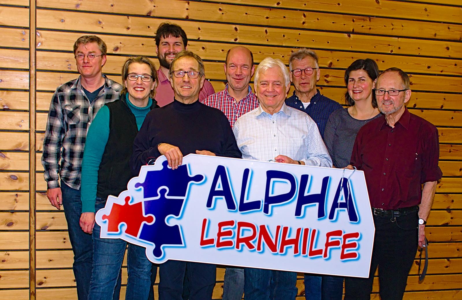 Die Alpha-Lernhilfe-Mathematiker