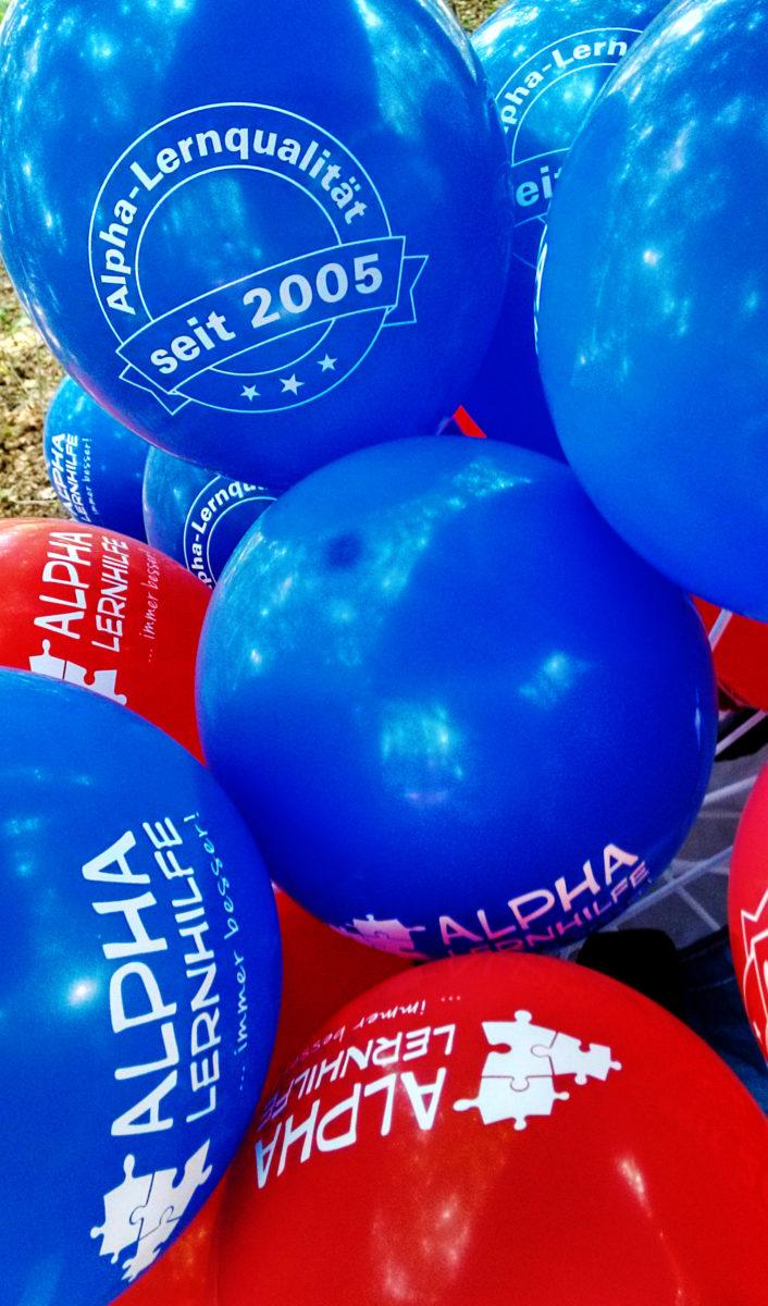 Luftballons: Alpha Lernqualität seit 2005