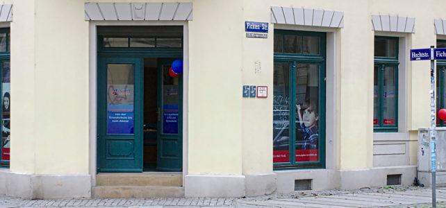 Standort der Alpha Lernhilfe in der Dresdener Neustadt
