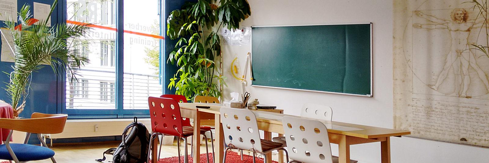 Lerntherapie-Raum der Alpha Lernhilfe in der Johannstadt Dresden