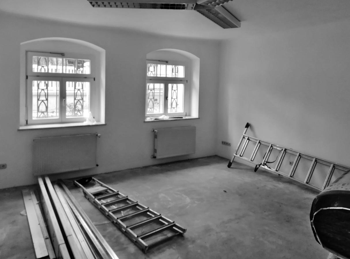 Ein weiterer Raum derAlpha  Lernhilfe Blasewitz, in dem sich Lerngruppen zur Nachhilfe treffen werden.