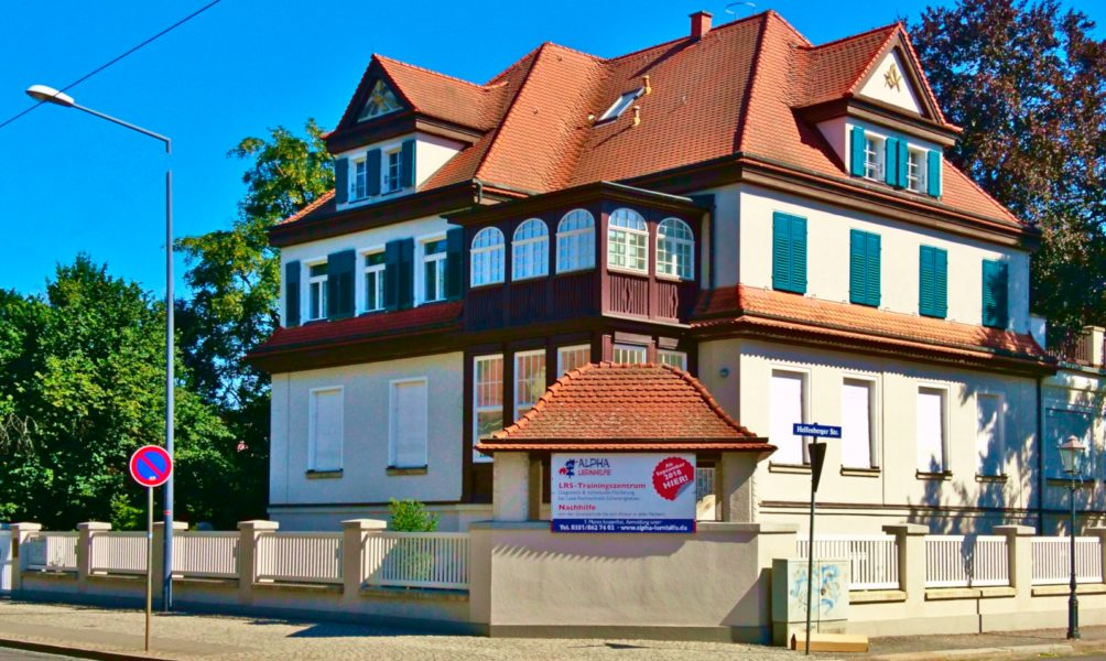 Der neue Standort der Alpha Lernhilfe in Blasewitz (Nähe Blaues Wunder)