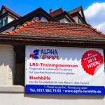 Jetzt mit offizieller Ankündigung am neuen Standort: Im September 2018 eröffnet das neue LRS-Trainingszentrum in Dresden-Blasewitz. Und natürlich bieten wir auch Nachhilfe und Lerntrainings in der gewohnten Alpha-Lernqualität.